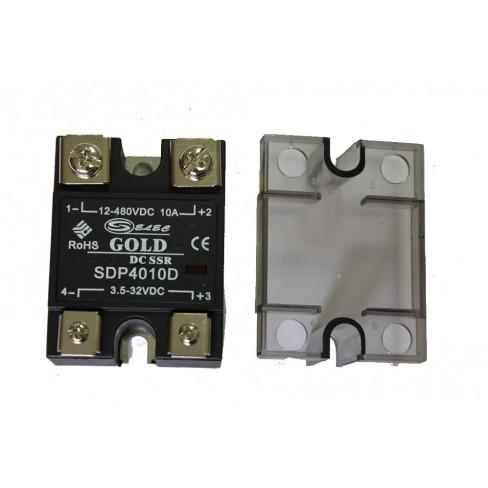 Твердотельное реле SDP-4010D (10A, 480V DC, 3...32V DC)