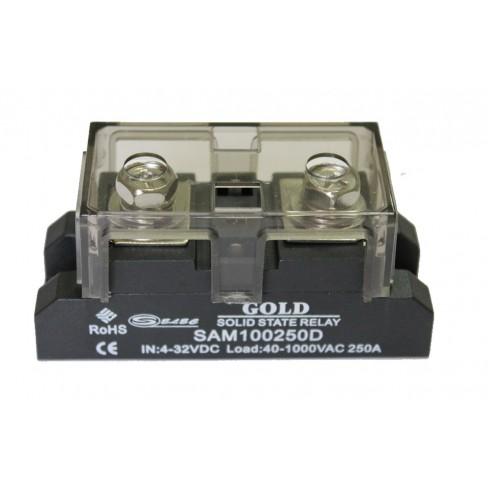Твердотельное реле SAM-100250D (250A, 1000V AC, 3...32V DC)