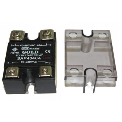 Твердотельное реле SAP-4040A (40A, 480V AC, 80...280V AC)