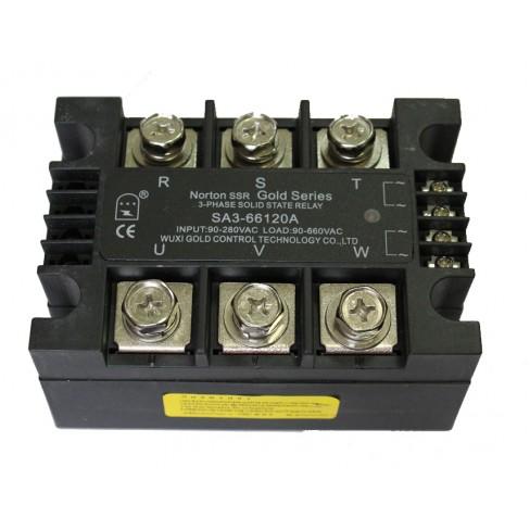 Твердотельное реле SA3-40120A (120A, 480V AC, 80...280V AC)