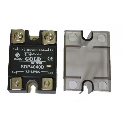 Твердотельное реле SDP-4030D (30A, 480V DC, 3...32V DC)