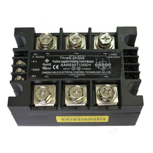 Твердотельное реле SAR530T120DY (120A, 530V AC, 10...32V DC)