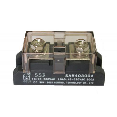 Твердотельное реле SAM-40300A (300A, 530V AC, 80...280V AC)