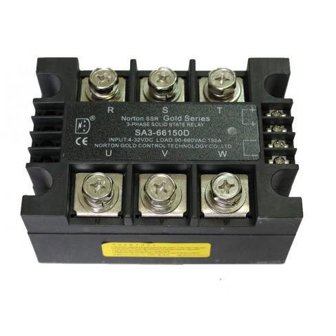 Твердотельное реле SA3-66150D (150A, 660V AC, 3...32V DC)