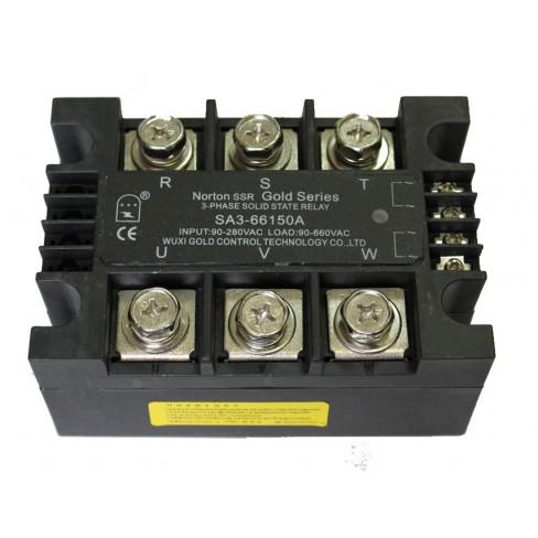 Твердотельное реле SA3-66150A (150A, 660V AC, 80...280V AC)
