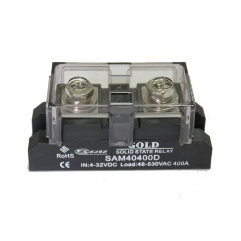 Твердотельное реле SAM-40400D (400A, 530V AC, 3...32V DC)