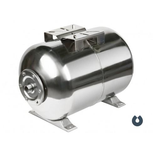 Гидроаккумулятор UNIPUMP 100 л (нерж.) горизонтальный