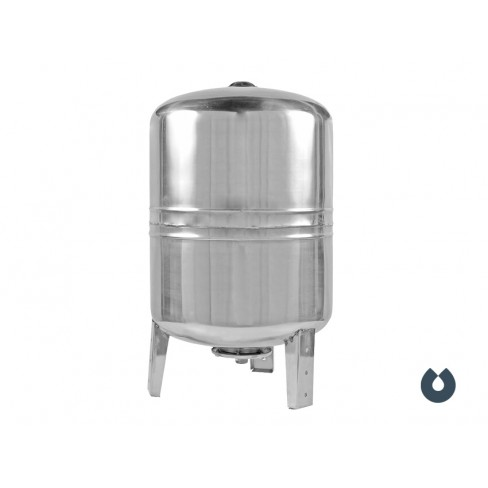 Гидроаккумулятор UNIPUMP 100 л (нерж.) вертикальный
