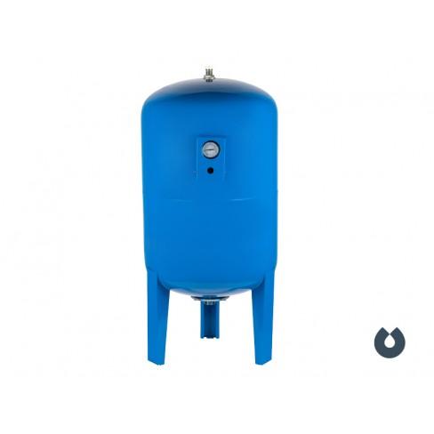 Гидроаккумулятор UNIPUMP 200 л вертикальный, с манометром