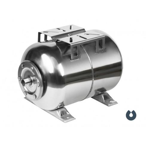 Гидроаккумулятор UNIPUMP 24 л (нерж.) горизонтальный