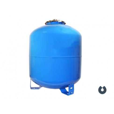 Гидроаккумулятор UNIPUMP 50 л вертикальный (фланец - нерж. сталь)