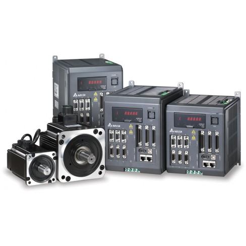 Блок управления 3-мя сервомоторами ASD-M-0721-M, 3x0.75кВт 1x220В, второй вход обратной связи, CANOPEN DELTA ELECTRONICS