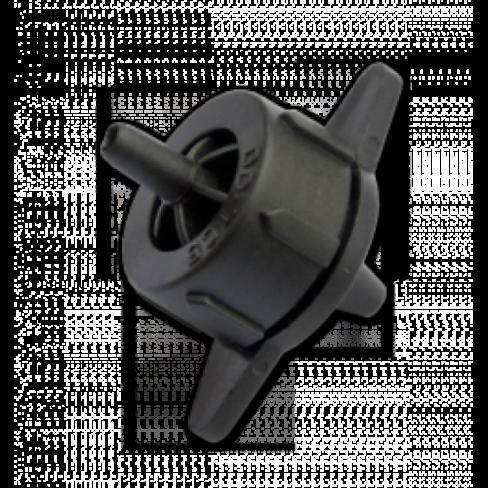 Капельница компенсированная разборная 4 л/ч черная