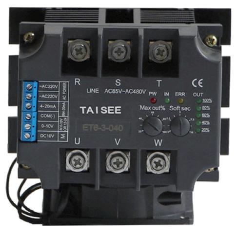 Однофазный регулятор мощности ET6-1-40 40А